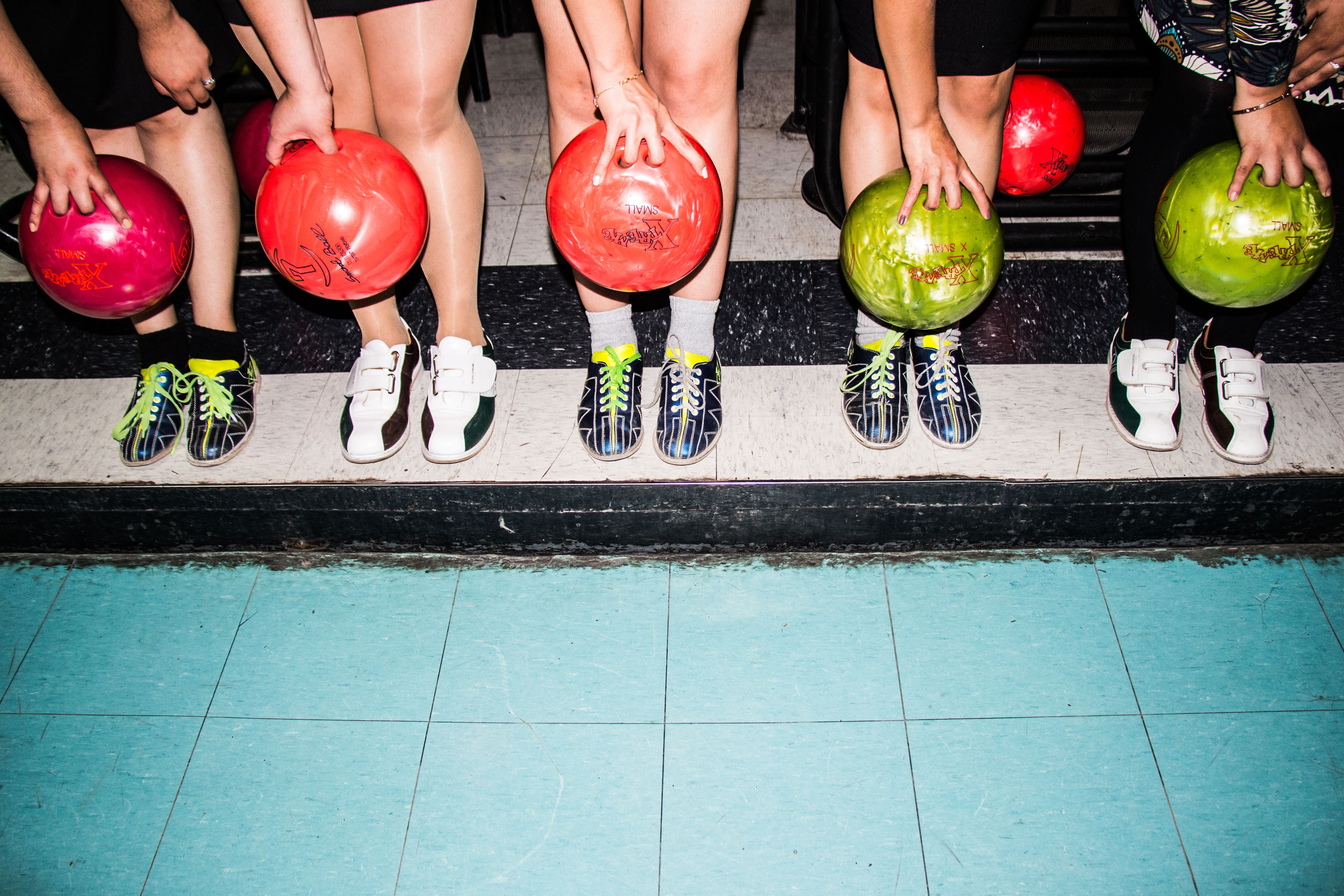 bowling or bowl in the woodlands with friends or family