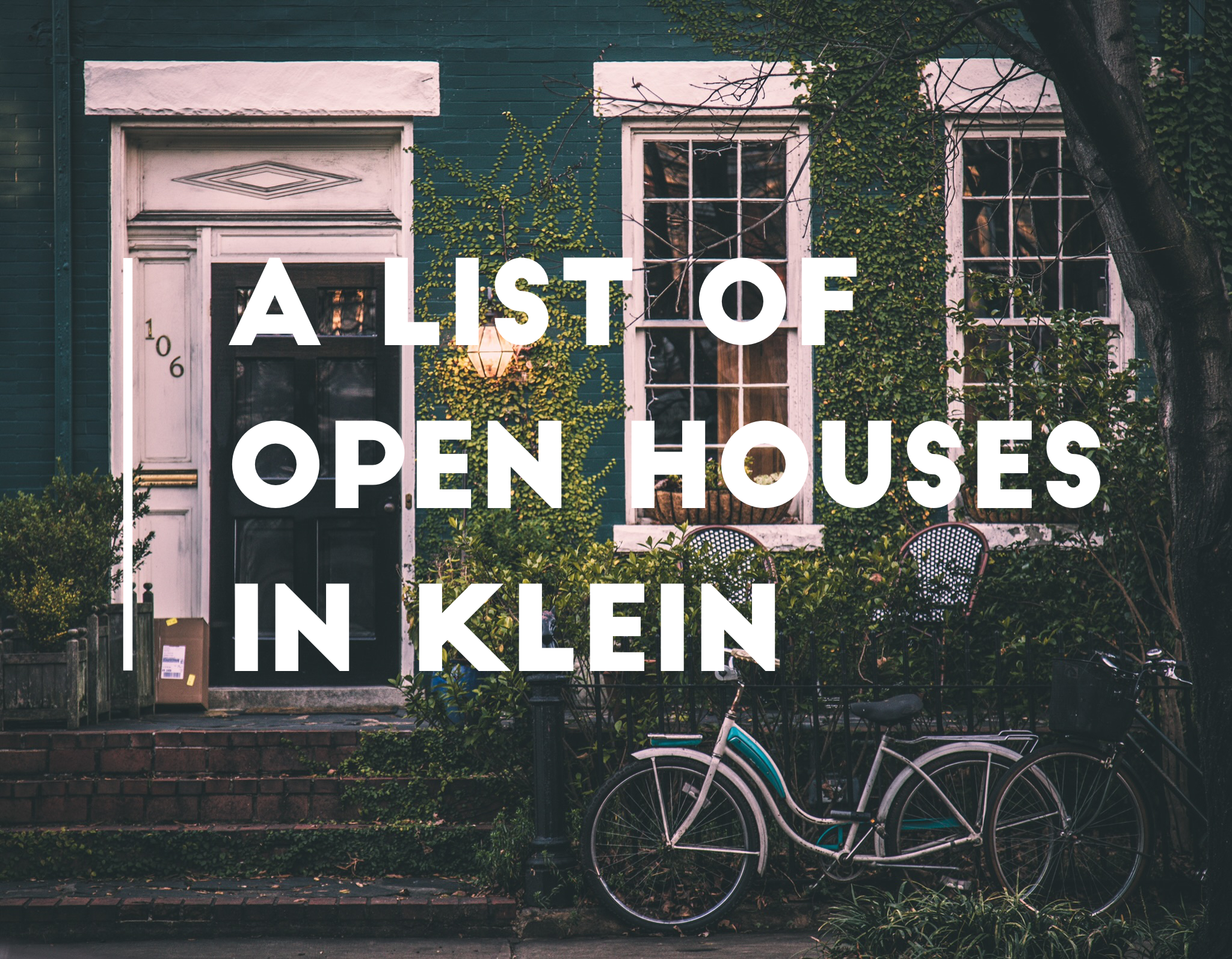a list of open houses in klein tx texas relocating real estate agent realtor brokerage jo & co realty group jordan schilleci