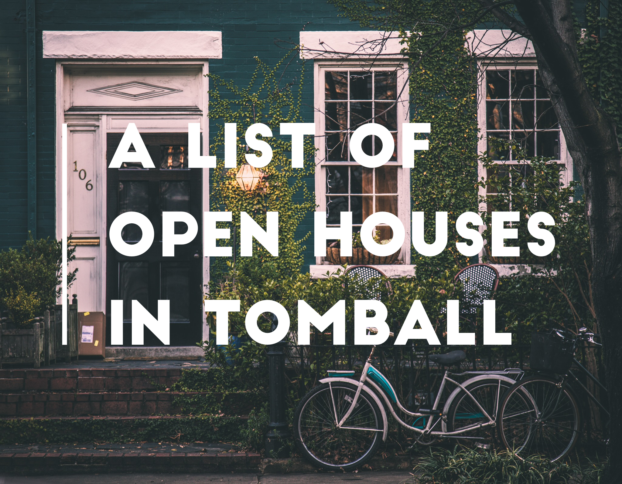 a list of open houses in the tomball tx texas relocating real estate agent realtor brokerage jo & co realty group jordan schilleci