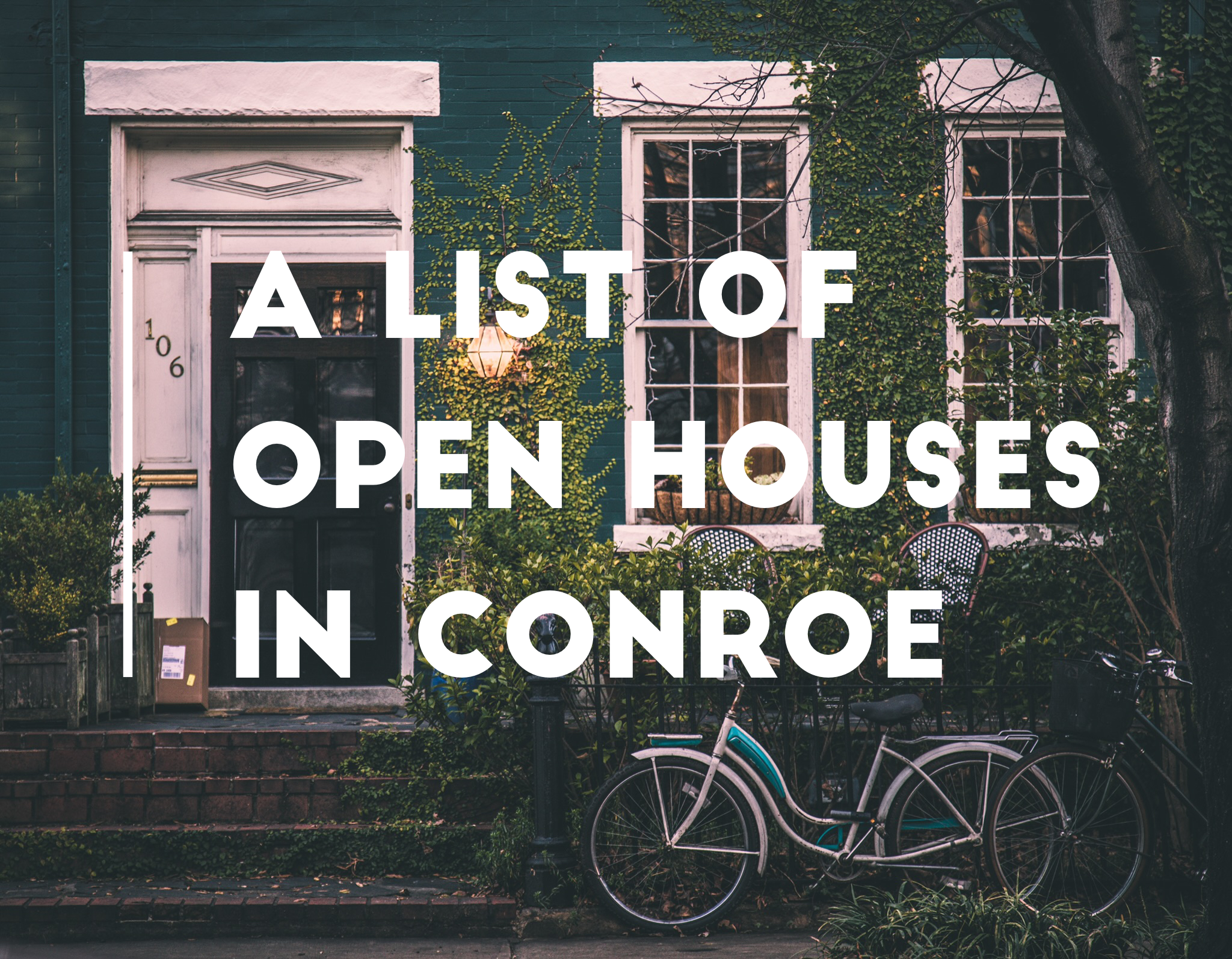 a list of open houses in the conroe tx texas relocating real estate agent realtor brokerage jo & co realty group jordan schilleci