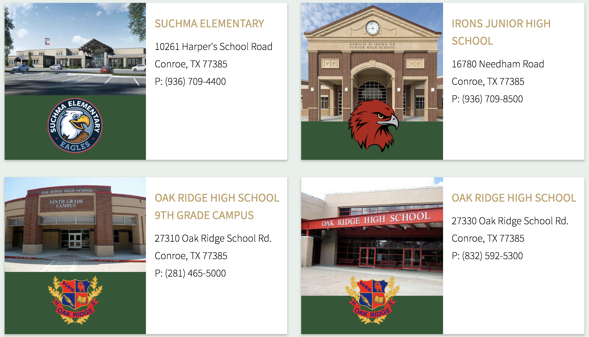 harper's preserce schools