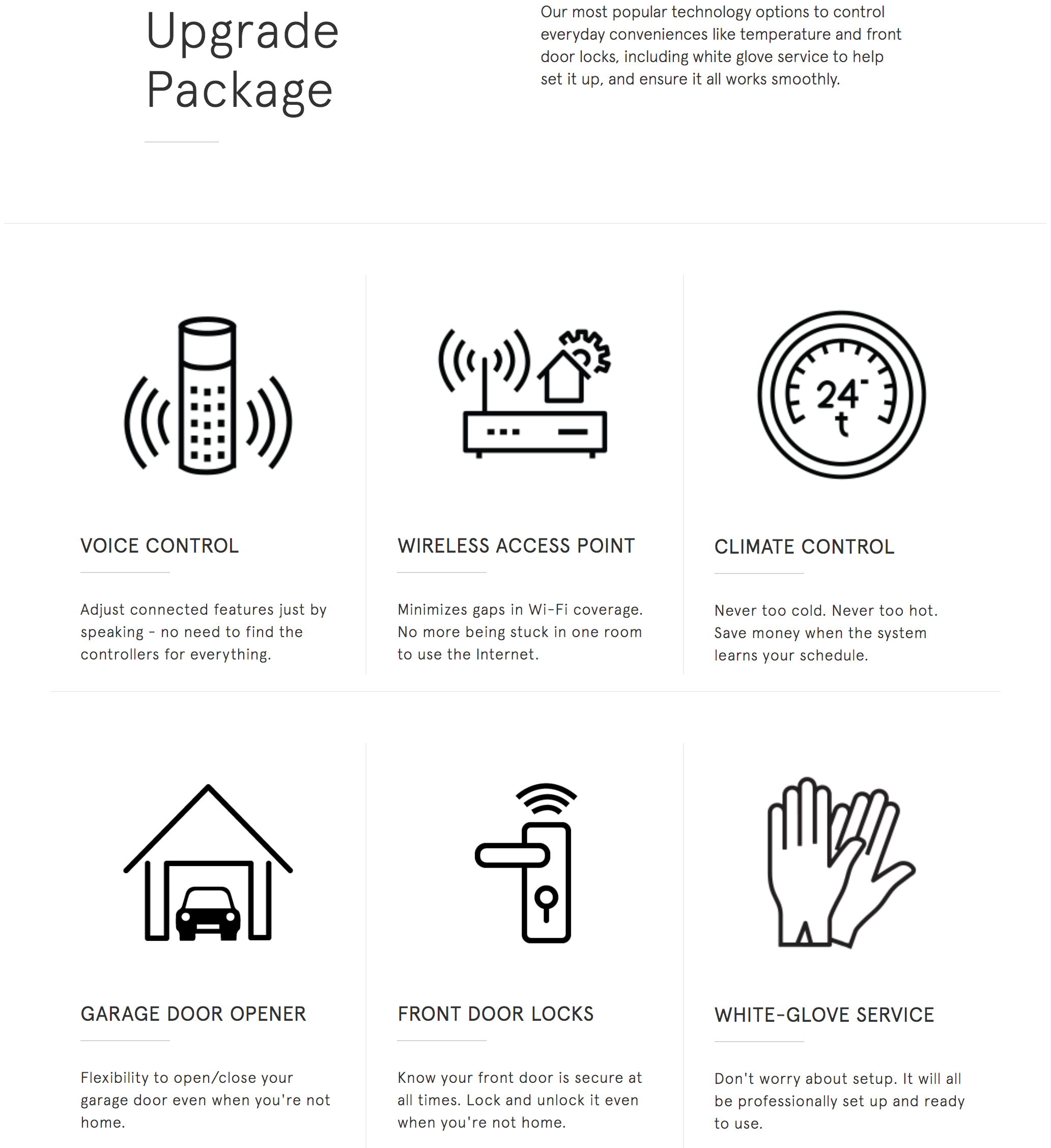 upgraded options centex homes builds smart homes