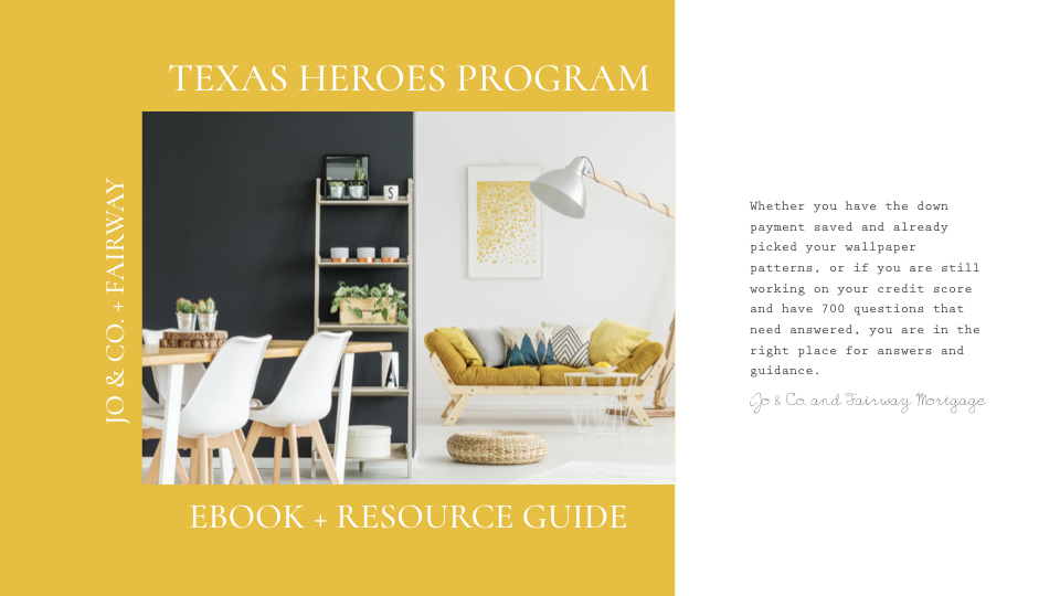 first page of ebook - homes for heroes program ebook and information for buying a home
