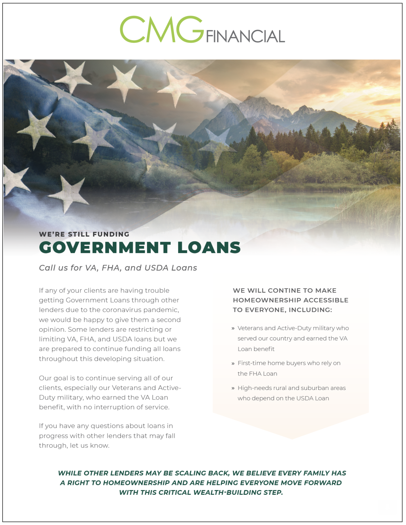 government loans are still funding