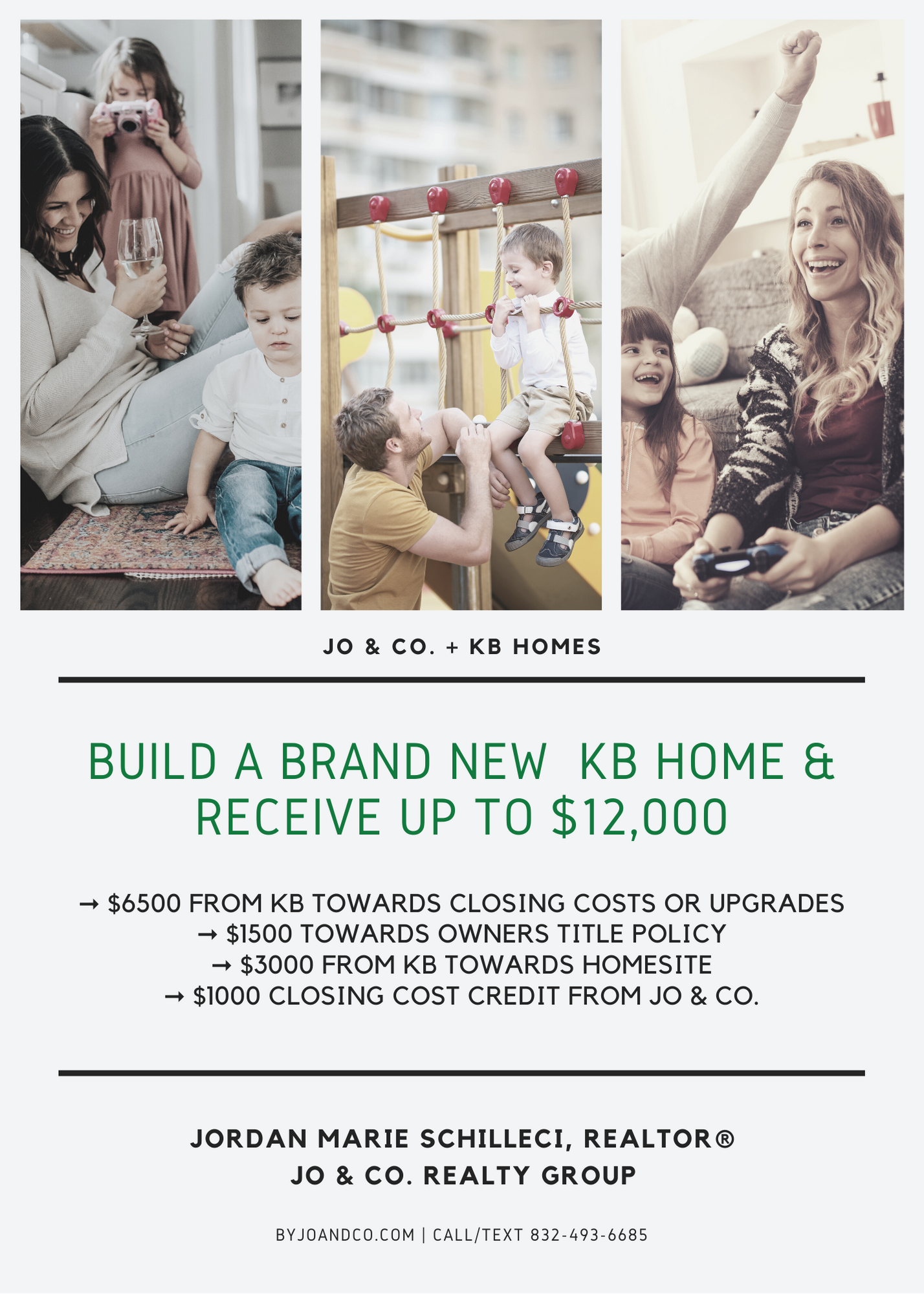 kb home flyer may 2020 with Jo and co realty group