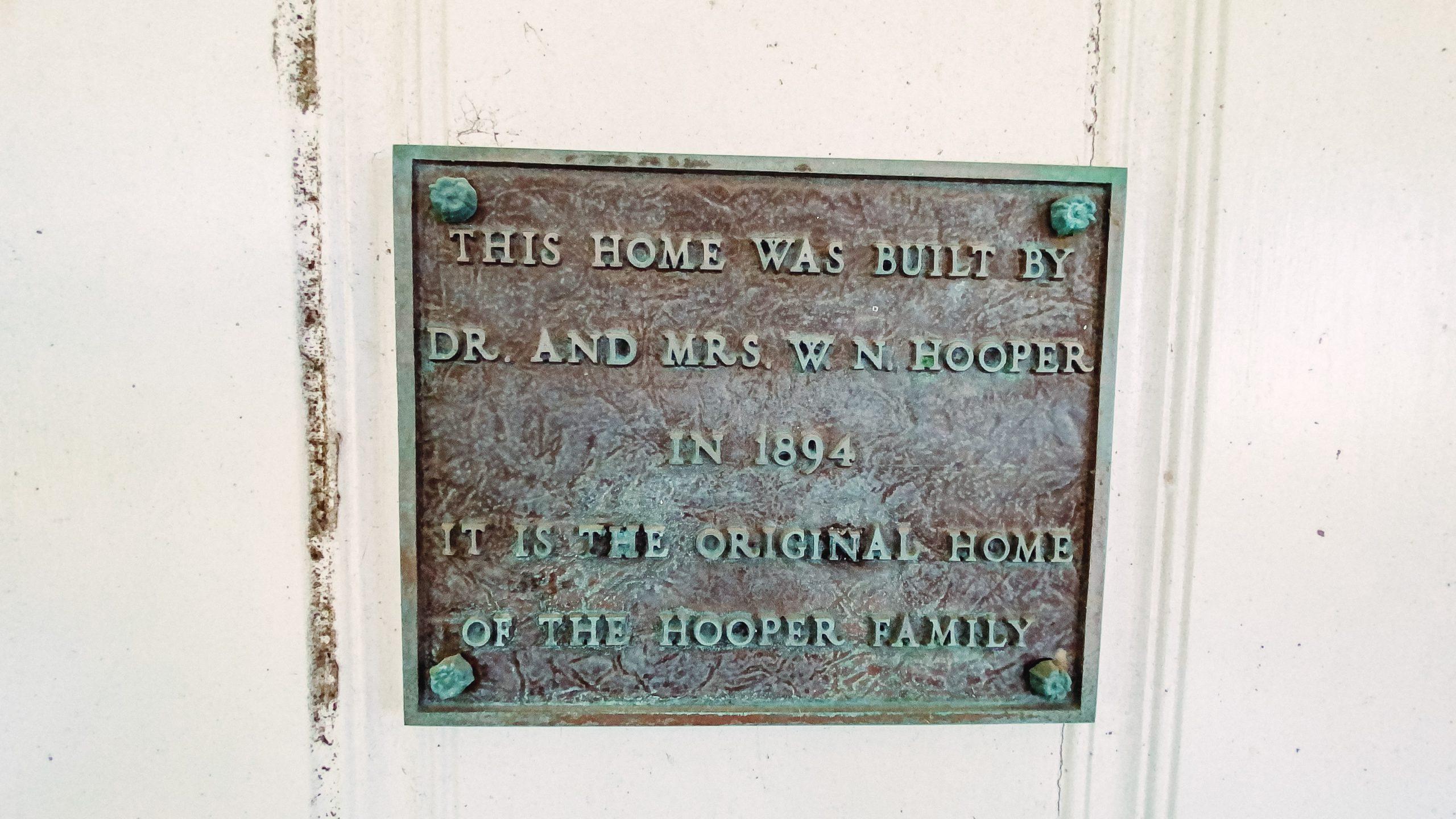 hooper family home built in 1894
