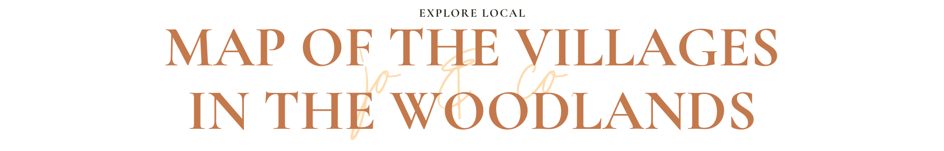 button for the woodlands map with villages