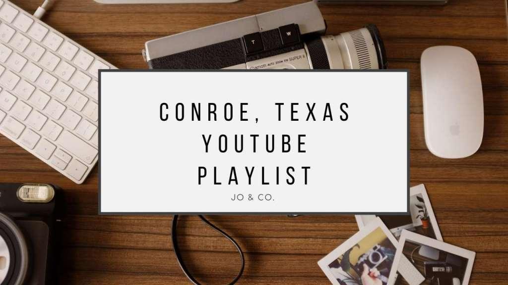 conroe youtube thumbnail